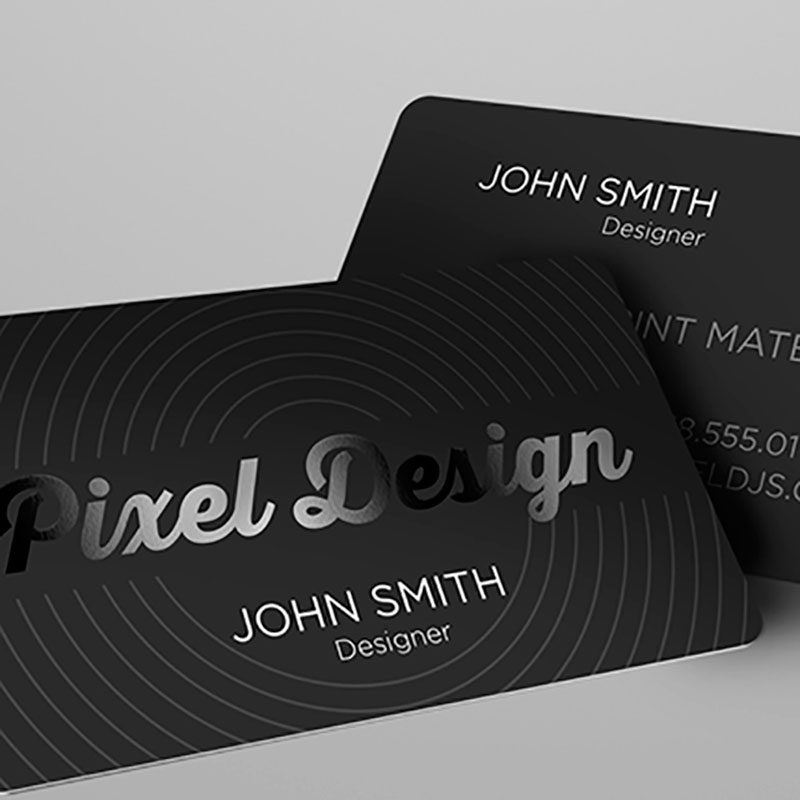 SILK BUSSINES CARDS – Rounded Corners