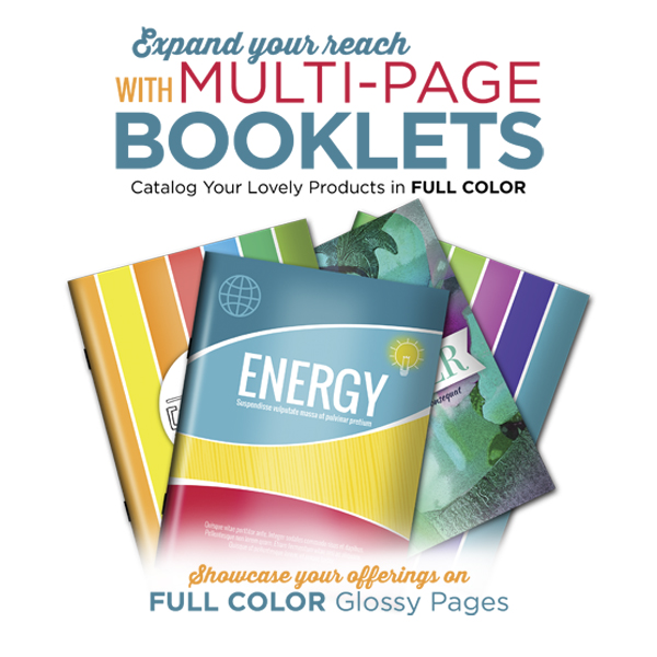 CATALOGS 8.5×11 full color 12 pages